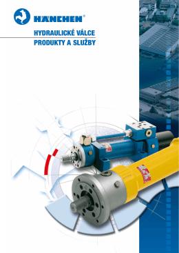 Hydraulické válce Produkty a služby - TROMA