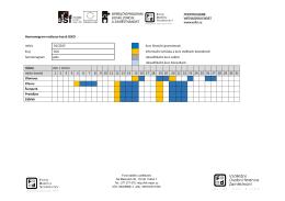 Harmonogram realizace kurzů SEKO měsíc 01/2015