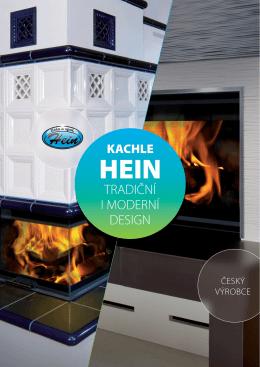 KACHLE HEIN - Kachlová kamna Hein