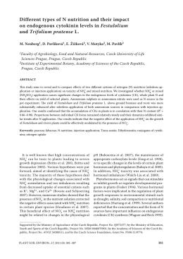 fulltext - Agricultural Journals
