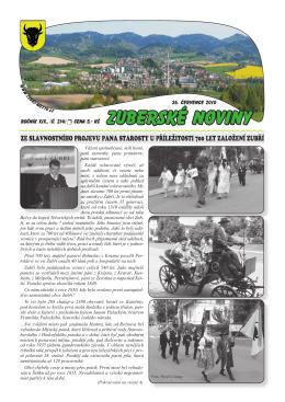 Zuberské noviny