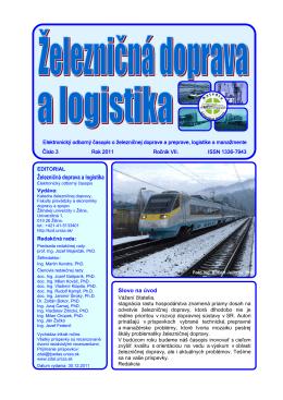číslo 3/2011 - Fakulta prevádzky a ekonomiky dopravy a spojov