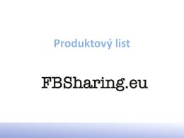 nabídka - FBSharing.eu