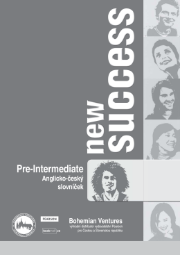 new success – pre-intermediate