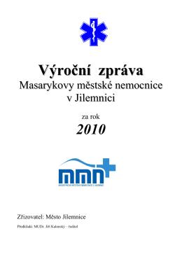 Výroční zpráva 2010 - Masarykova městská nemocnice v Jilemnici