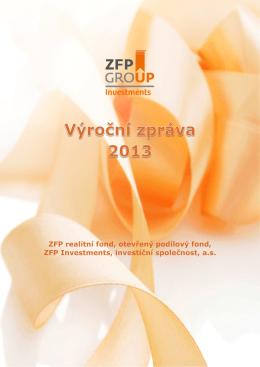 ZFP realitní fond, otevřený podílový fond, ZFP Investments, investiční