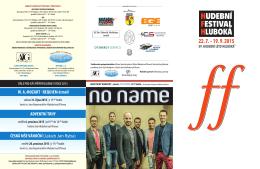 Plakát Hudební léto 2015 - Soubor lidových písní a tanců Furiant