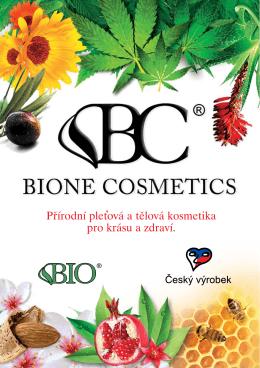 Přírodní pletová a tělová kosmetika pro krásu a zdraví. ,