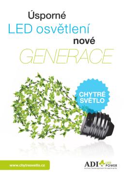 LED osvětlení - ADI LED POWER