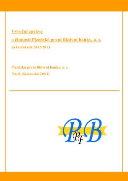Zpráva o činnosti 2012/13