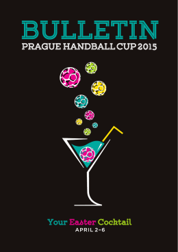 Official bulletin - Prague Handball Cup