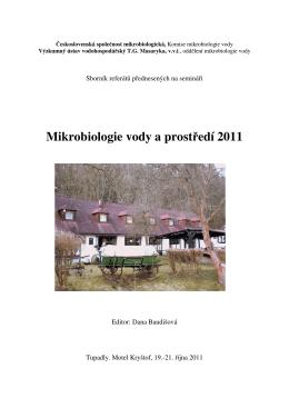 Mikrobiologie vody a prostředí 2011 - HEIS VÚV