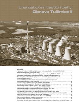 Projekt Komplexní obnovy Elektrárny Tušimice (All for Power, 4/2009)