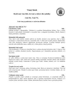 Vinný lístek (*.pdf)