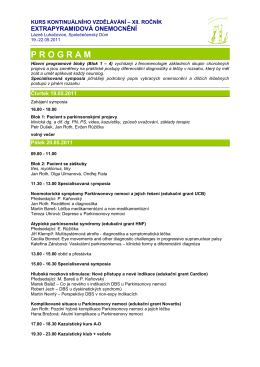 Program - Conference Partners Prague