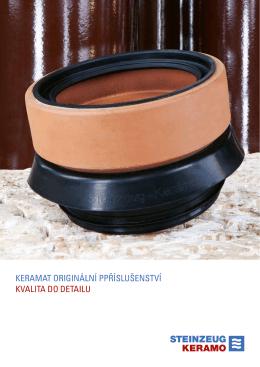 keramat originální ppříslušenství kvalita do detailu - Steinzeug