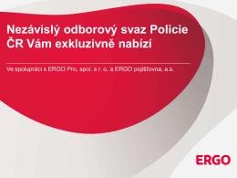 Nová prezentace produktu ERGO