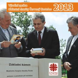 Výroční zpráva Oblastní charity Červený Kostelec Výroční zpráva