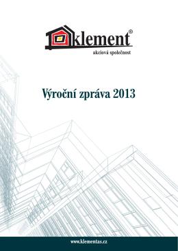 Stáhnout výroční zprávu 2013 CZ v PDF