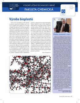 VUT v Brně: Fakulta chemická