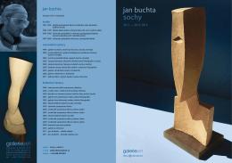 jan buchta - sochy - katalog