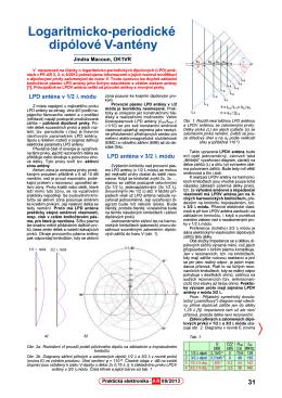 55. Logaritmicko-periodické dipólové V