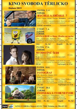 Kino Duben 2015