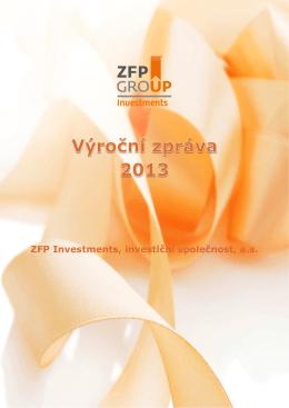 Výroční zpráva investiční společnosti k 31.12.2013