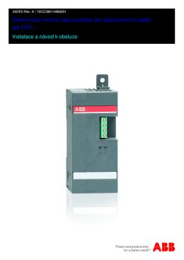 Elektronický monitor stavu pojistek pro stejnosměrná napětí
