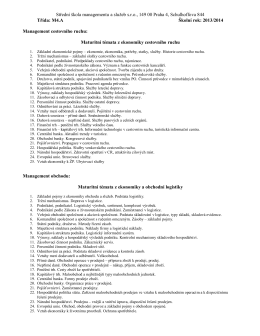 temata M4A-PP - Střední škola managementu a služeb sro