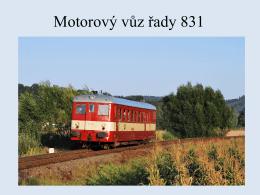 Motorový vůz řady 831