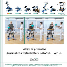 Vítejte na prezentaci dynamického vertikalizátoru