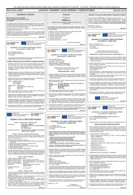 oz oznámení o vyhlášení výběrového řízení na dodávky v rámci oppi