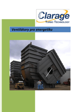 Ventilátory pro energetiku [PDF, 2 MB]