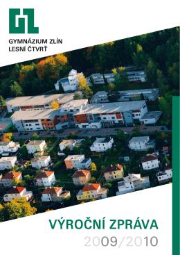 PDF, Výroční zpráva za rok 2009/2010 - Gymnázium Zlín