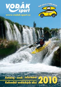 Kalendář vodáckých akcí 2010
