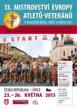 13. mistrovství evropy atletů-veteránů