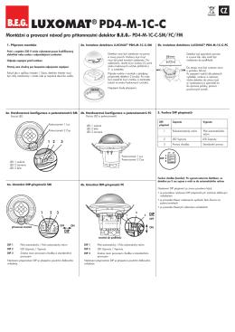 LUXOMAT® PD4-M-1C-C