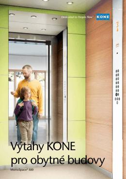 Výtahy KONE pro obytné budovy