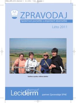Léto 2011 - Česká Akademie dermatovenerologie
