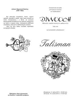 Pozvánka - Talisman.cdr