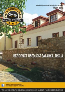 rezidence Usedlost salabka, troja