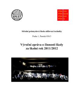 2011/2012 - SPŠST v Panské
