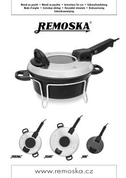 Návod - Remoska.cz