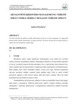 Šablona dokumentu