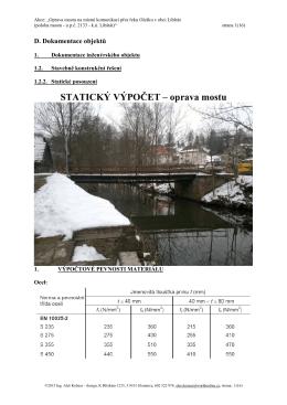 07_Statický výpočet Oprava mostu.pdf