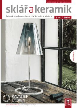 Obsah v pdf - Sklář a keramik
