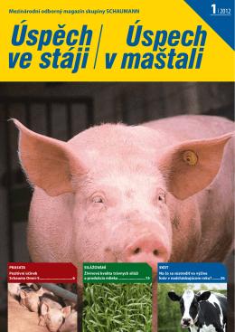 Mezinárodní odborný magazín skupiny SCHAUMANN