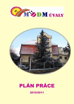 Plán práce 2010/2011