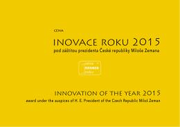 inovace roku 2015